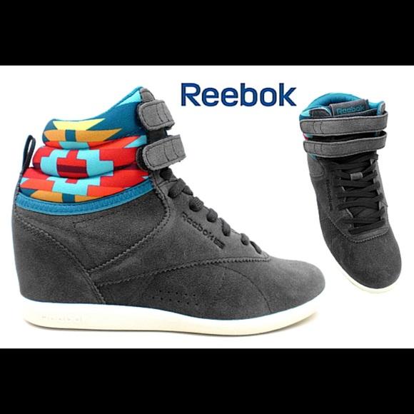 Reebok Fs Hi Int Wedge Sneaker In Grey
